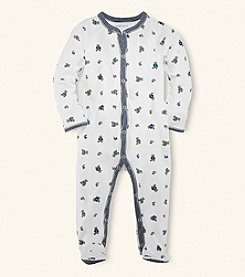 Ralph Lauren Childrenswear Baby Boys' Bear Coverall