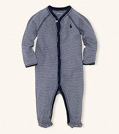 Ralph Lauren Childrenswear Baby Boys' Striped Coverall