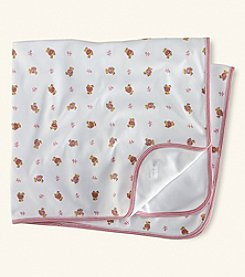 Ralph Lauren® Baby Girls' Bear Blanket