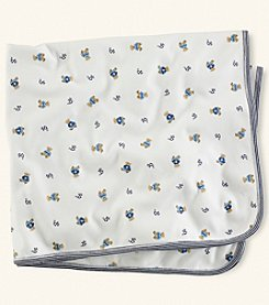 Ralph Lauren® Baby Boys Bear Blanket