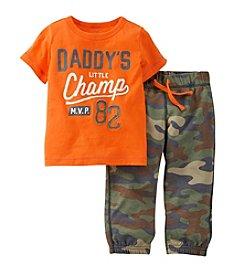 Carter's® Boys' 2T-4T 2-Piece Champ Pants Set