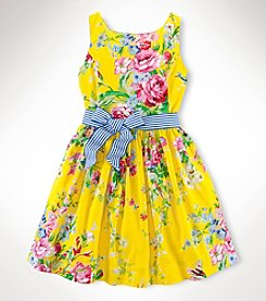 Ralph Lauren Childrenswear Girls' 7-16 Floral Dress