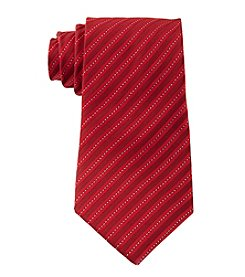 Geoffrey Beene® Men's Big & Tall Lurex Stripe Pattern Tie