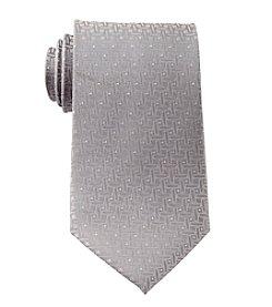 Geoffrey Beene® Men's Big & Tall Lurex Basketweave Pattern Tie
