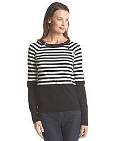 Anne Klein® Stripe Sweater