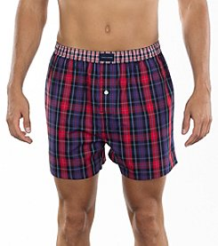 Tommy Hilfiger® Men's Plaid Boxers