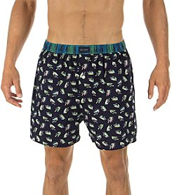 Tommy Hilfiger® Men's Fish Lure Pattern Boxer