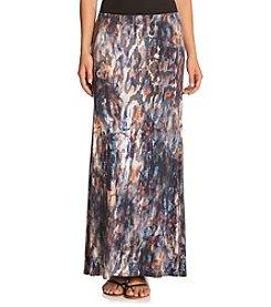 Karen Kane® Printed Maxi Skirt