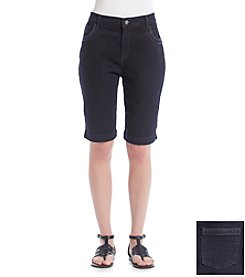 Gloria Vanderbilt® Amanda Stud Bermuda Shorts