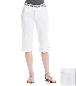 Gloria Vanderbilt® Marnie Belted Skimmer Capri