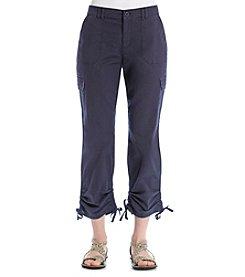 Gloria Vanderbilt® Zoey Cargo Cropped Pants