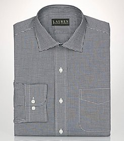 Lauren Ralph Lauren® Men's Non-Iron Gingham Long Sleeve  Dress Shirt
