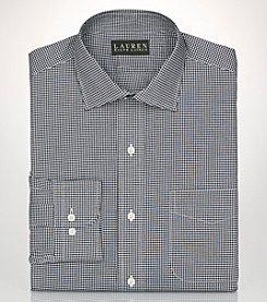 Lauren Ralph Lauren® Men's Non-Iron Gingham Long Sleeve  Dress Shirt