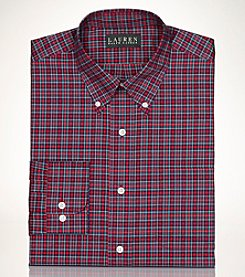 Lauren Ralph Lauren® Men's Non-Iron Tartan Long Sleeve Dress Shirt