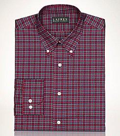 Lauren Ralph Lauren® Men's Non-Iron Tartan Long Sleeve Dress Shirt
