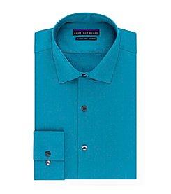 Geoffrey Beene® Men's Sateen Solid Classic Fit Non-Iron Dress Shirt