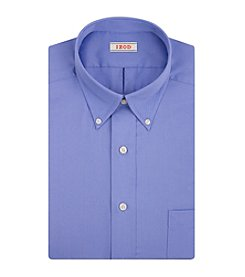 Izod® Men's Solid Regular Fit Dress Shirt