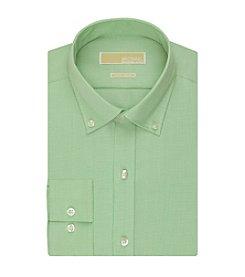 MICHAEL Michael Kors® Men's Regular Fit Non-Iron Houndstooth Dress Shirt