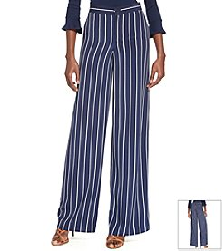 Lauren Ralph Lauren® Striped Wide-Leg Pants