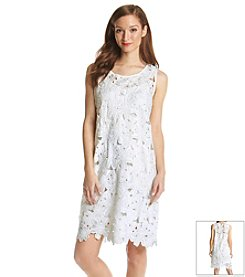 Fever™ Floral Cut-Out Dress