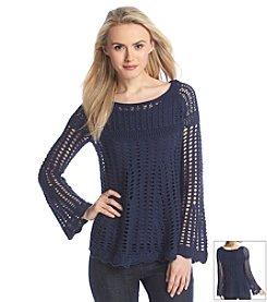 Chelsea & Theodore® Open Gauge Sweater