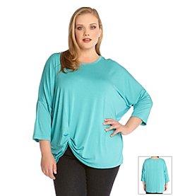 Karen Kane® Plus Size Pick Up Top