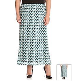 Karen Kane® Plus Size Crochet Maxi Skirt