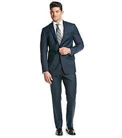 Kenneth Cole New York® Men's Slim Fit Blue Sharkskin Suit Separate