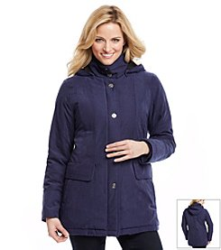 Forecaster Microfiber Removable Hood Coat