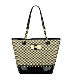 Anne Klein® Checkmate Checkered Tote
