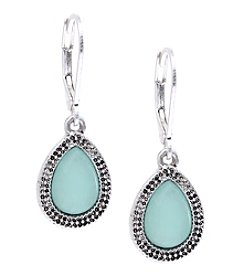 Nine West Vintage America Collection® Silvertone Small Drop Earrings