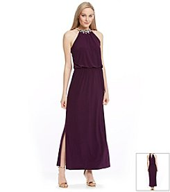 MSK® Blouson Maxi Dress
