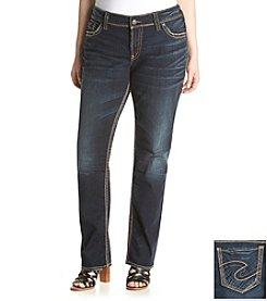 Silver Jeans Co. Plus Size Suki Straight Jeans