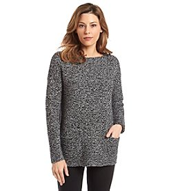 Vince Camuto® Marled Boatneck Sweater