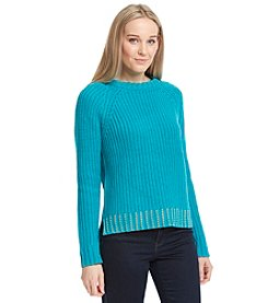 MICHAEL Michael Kors® Bead Hem Sweater
