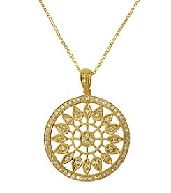 Effy® 0.30 ct. t.w. Diamond Pendant Necklace in 14K Yellow Gold