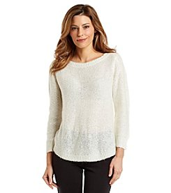 Anne Klein® Pullover Sequin Sweater