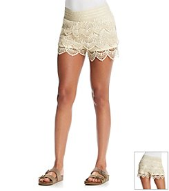 Jolt® Crochet and Lace Short