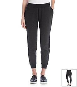 DKNY JEANS® Eyelet Pieced Track Pants