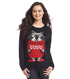 Jolt® Racoon In Hat Sweater