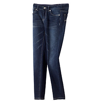 Levi's® Girls' 7-16 Medium Wash Knit Jeggings