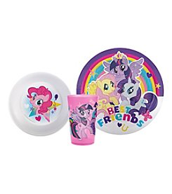 Zak Designs® My Little Pony 3-pc. Dinnerware Set