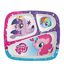 Zak Designs® My Little Pony 3-Section Plate