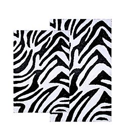 Chesapeake Zebra 2-pc. Bath Rug Set