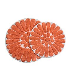 Chesapeake Bursting Flower 2-pc. Bath Rug Set