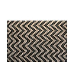 Chesapeake Grey Chevron Jute Rug