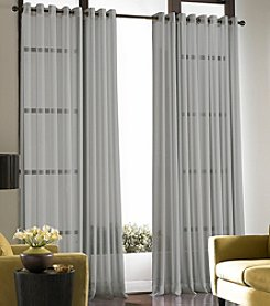Curtainworks® Soho Voile Grommet Window Panel