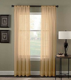 Curtainworks® Trinity Crinkle Voile Window Panel