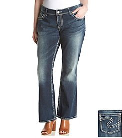 Silver Jeans Co. Plus Size Boot Cut Jeans