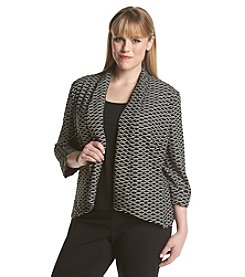Kasper® Plus Size Cardigan
